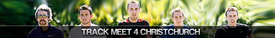 Track Meet 4 Christchurch - LIVE Event